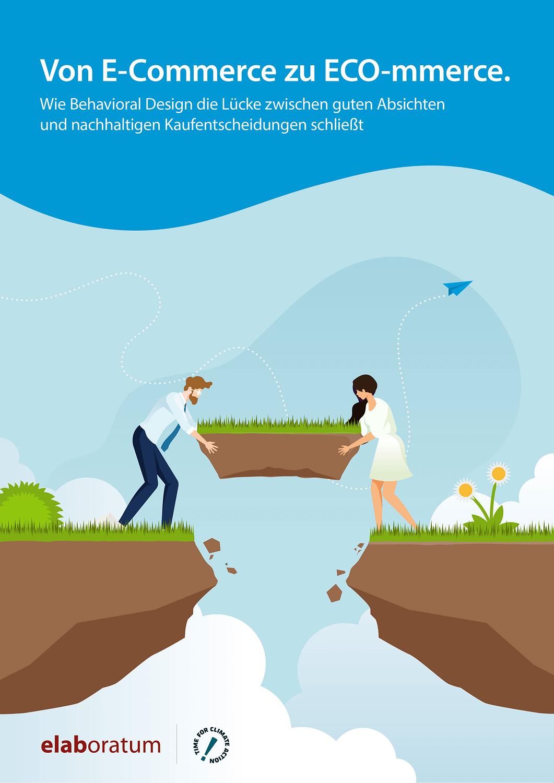 Titelbild Whitepaper: Von E-commerce zu ECO-mmerce.